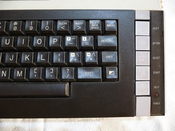 SECAM Atari 800XL Keyboard, right