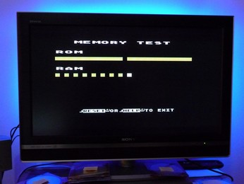 'Star' Arabic Atari 65XE ROM and RAM self-test